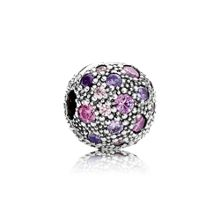 Pandora Abstract multi cubic zirconia silver clip