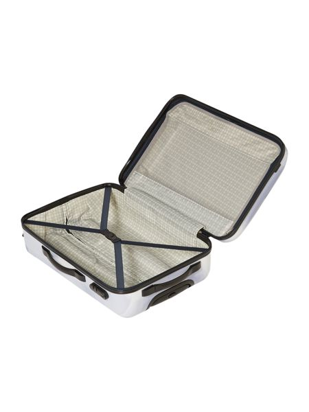 Linea X Ray colour 4 wheel hard medium suitcase