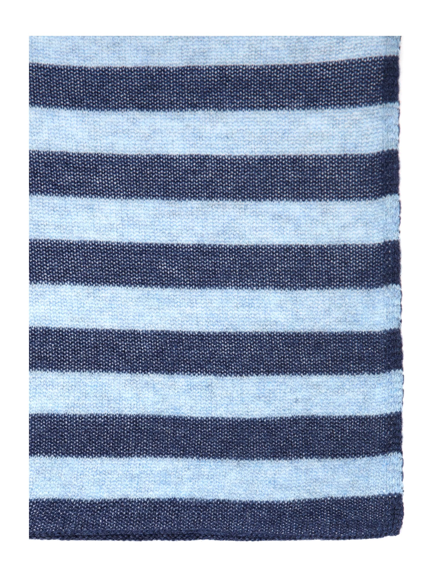 Meana cashmere wool striped scarf