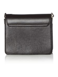 Faro leather cross body bag
