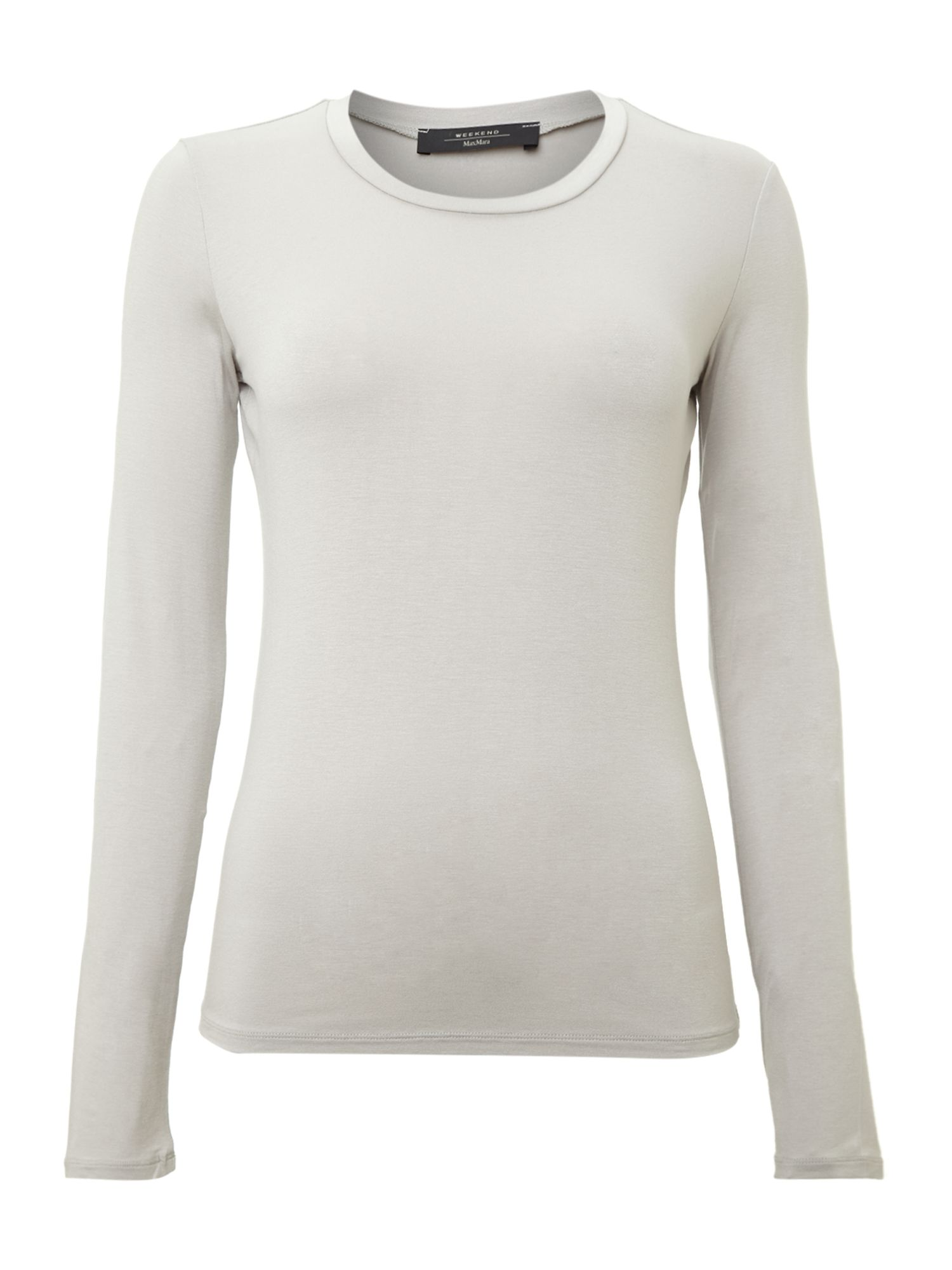 Multie long sleeved round neck top