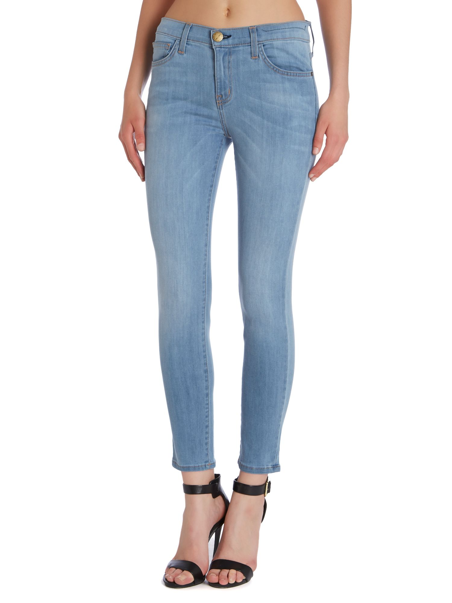 The Stiletto skinny jeans in sterling