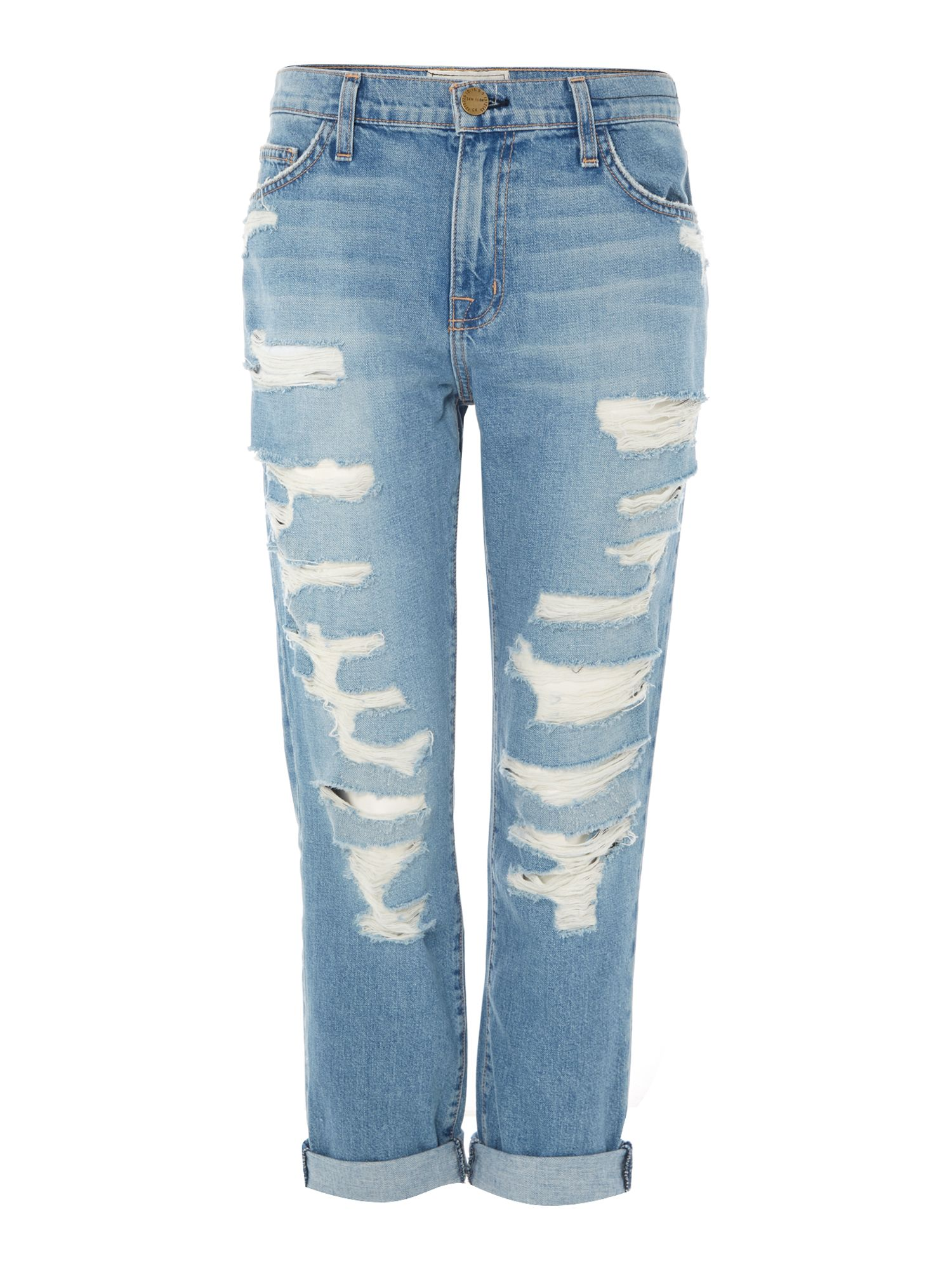 The Fling boyfriend jeans in tattered destroy