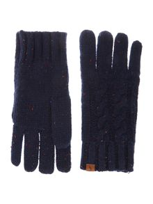 Rafe cable knit gloves