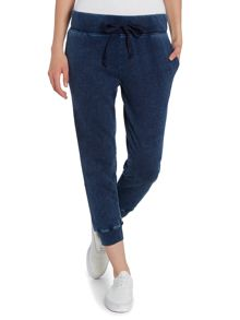 The crop sweatpant in indigo haze