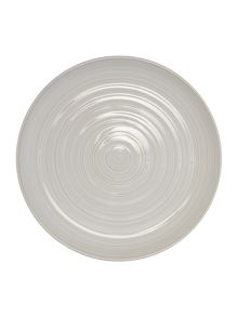 Echo White Dinner Plate Set of 4