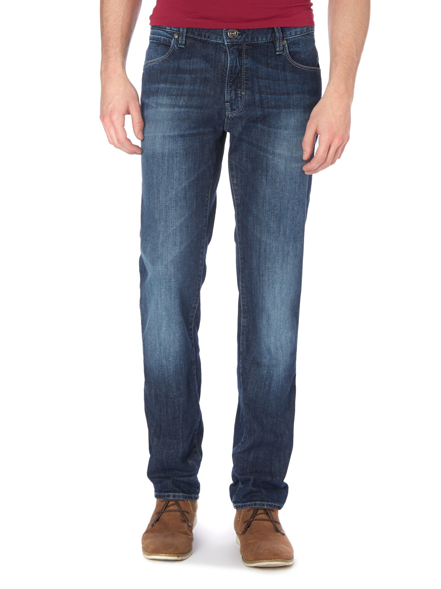 Orange 63 mid wash slim fit jean
