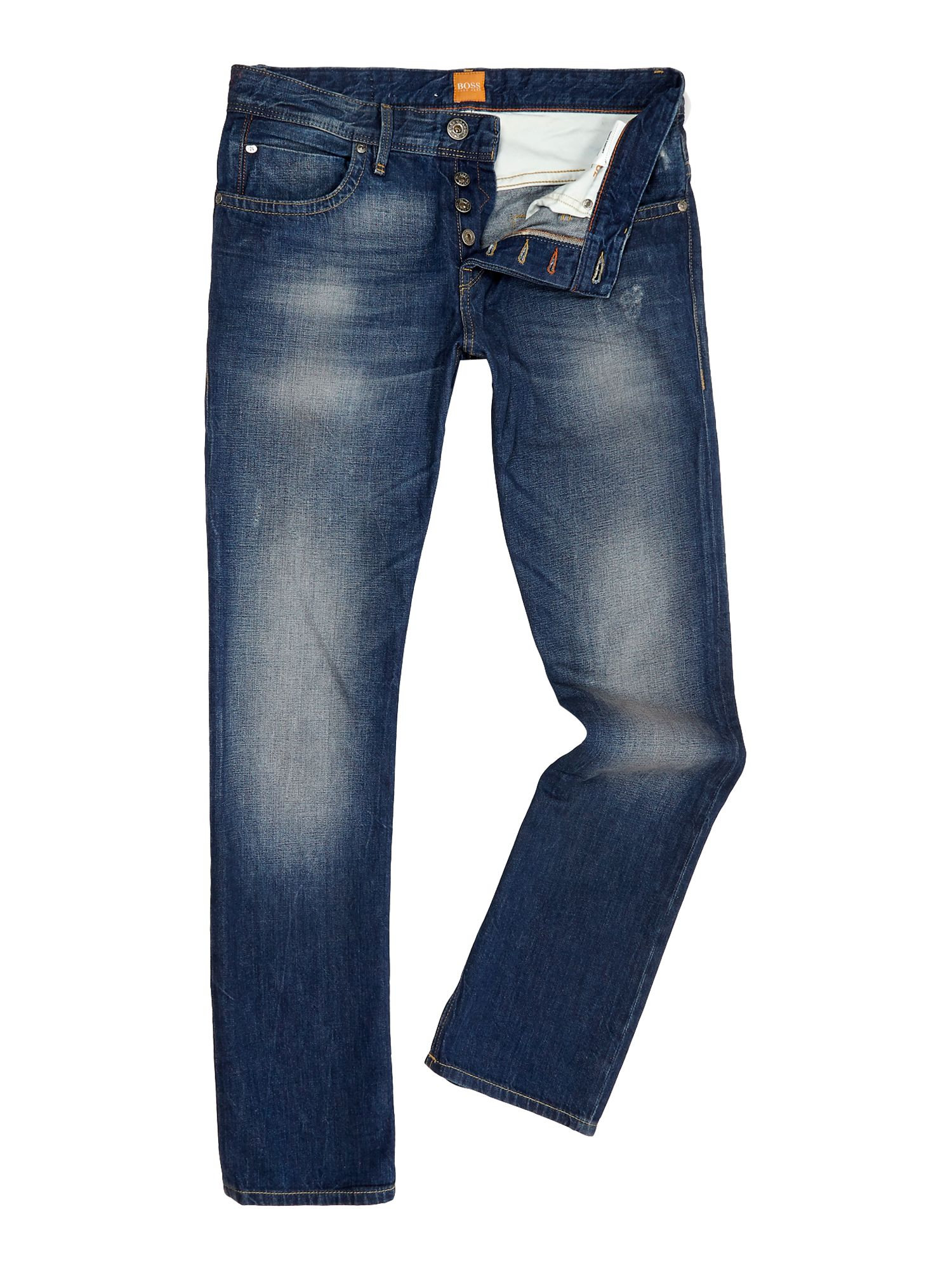 Orange 24 milano wash regular straight jean