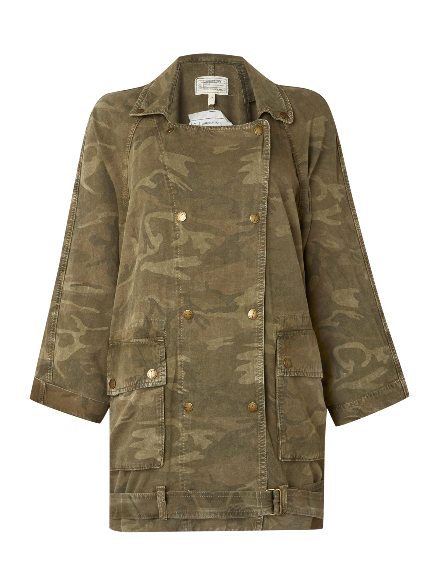 The infantry military jacket in army camo