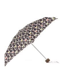 Fulton Orla Kiely multi wallflower tiny umbrella