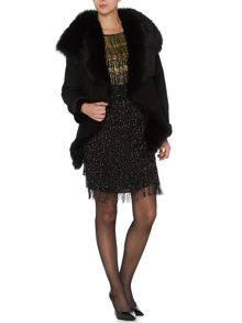 Biba Gold Limited Edition Shearling Jacket