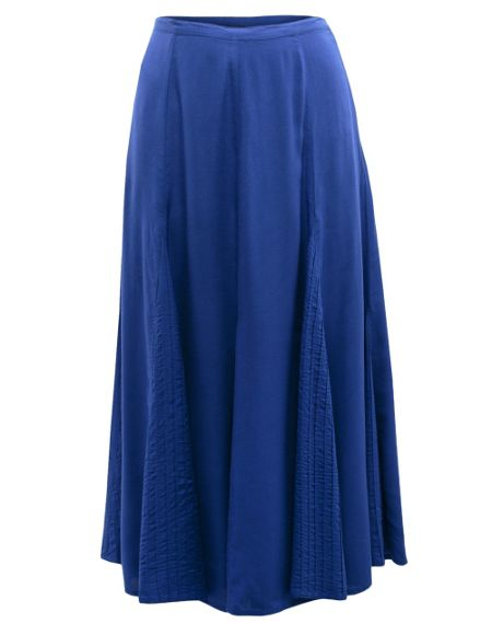 East Distressed maxi skirt