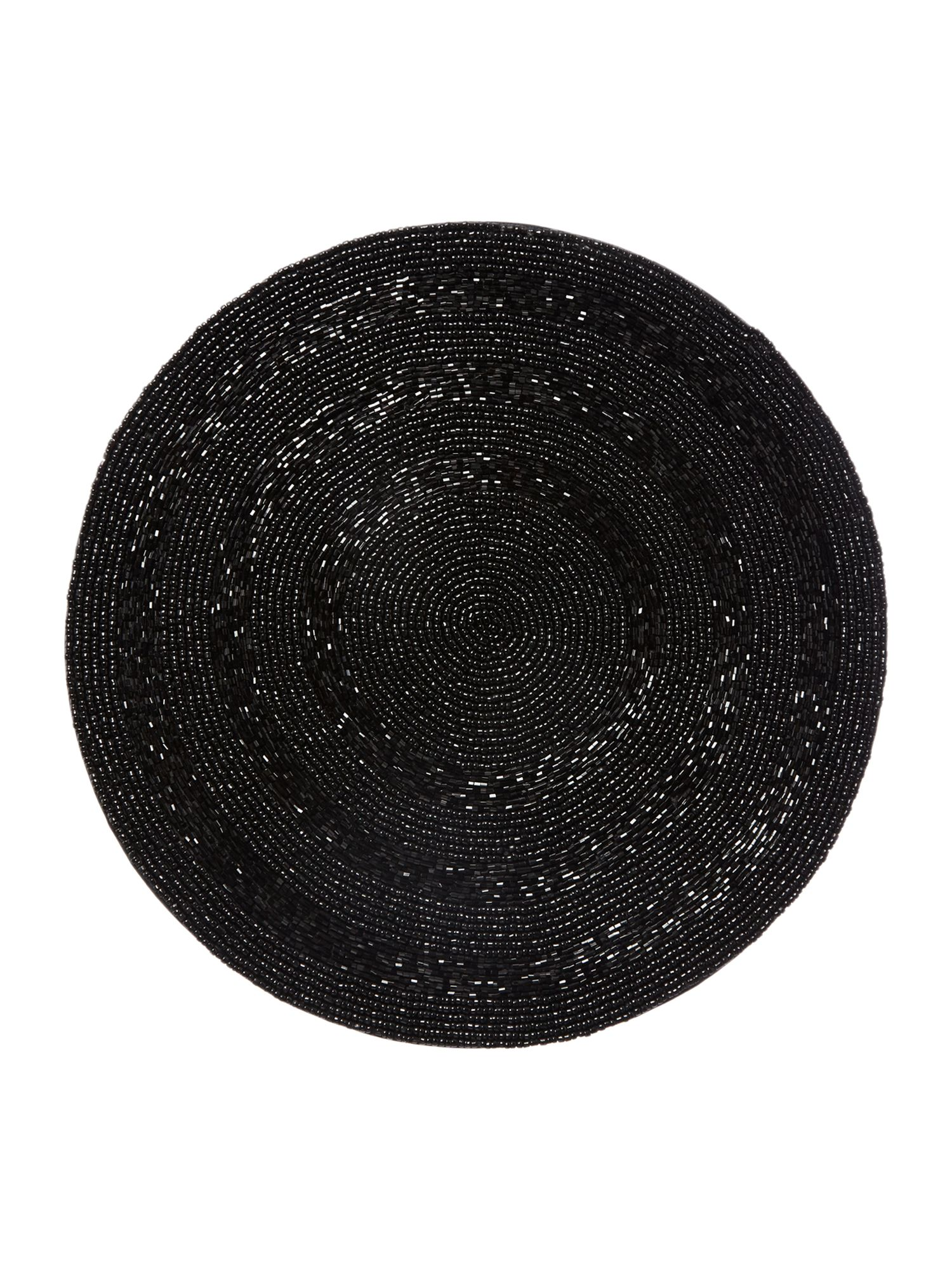 Black halo placemats set of 2