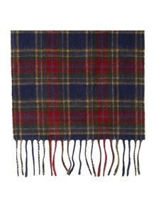 Tytherton checked scarf