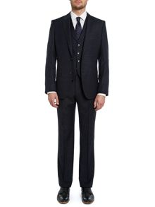 Hattrick Final slim broken fleck three piece suit