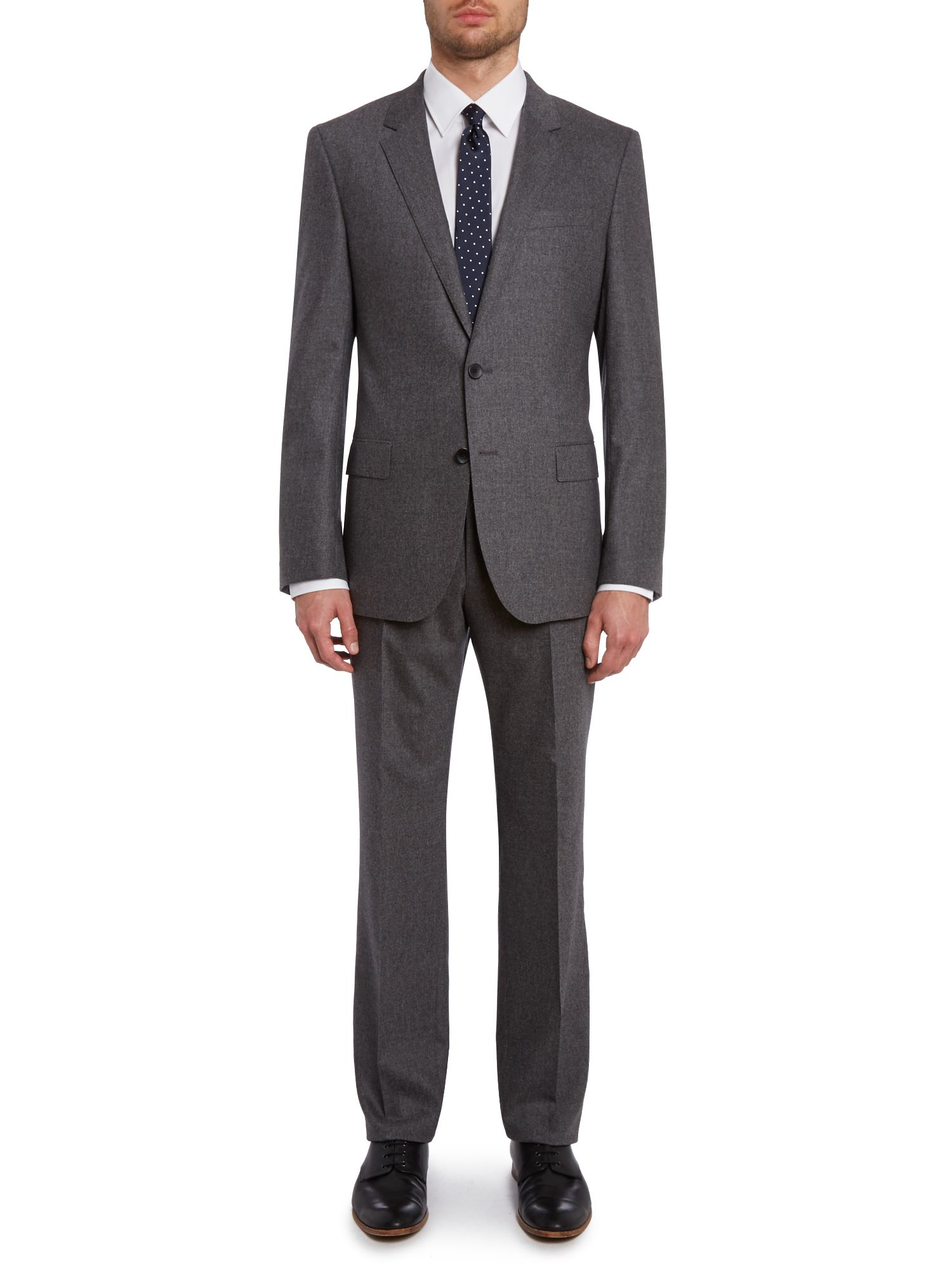 Huge Genius slim fit flannel suit