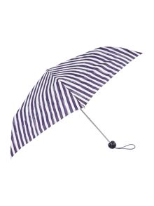 Painterley stripe superslim umbrella