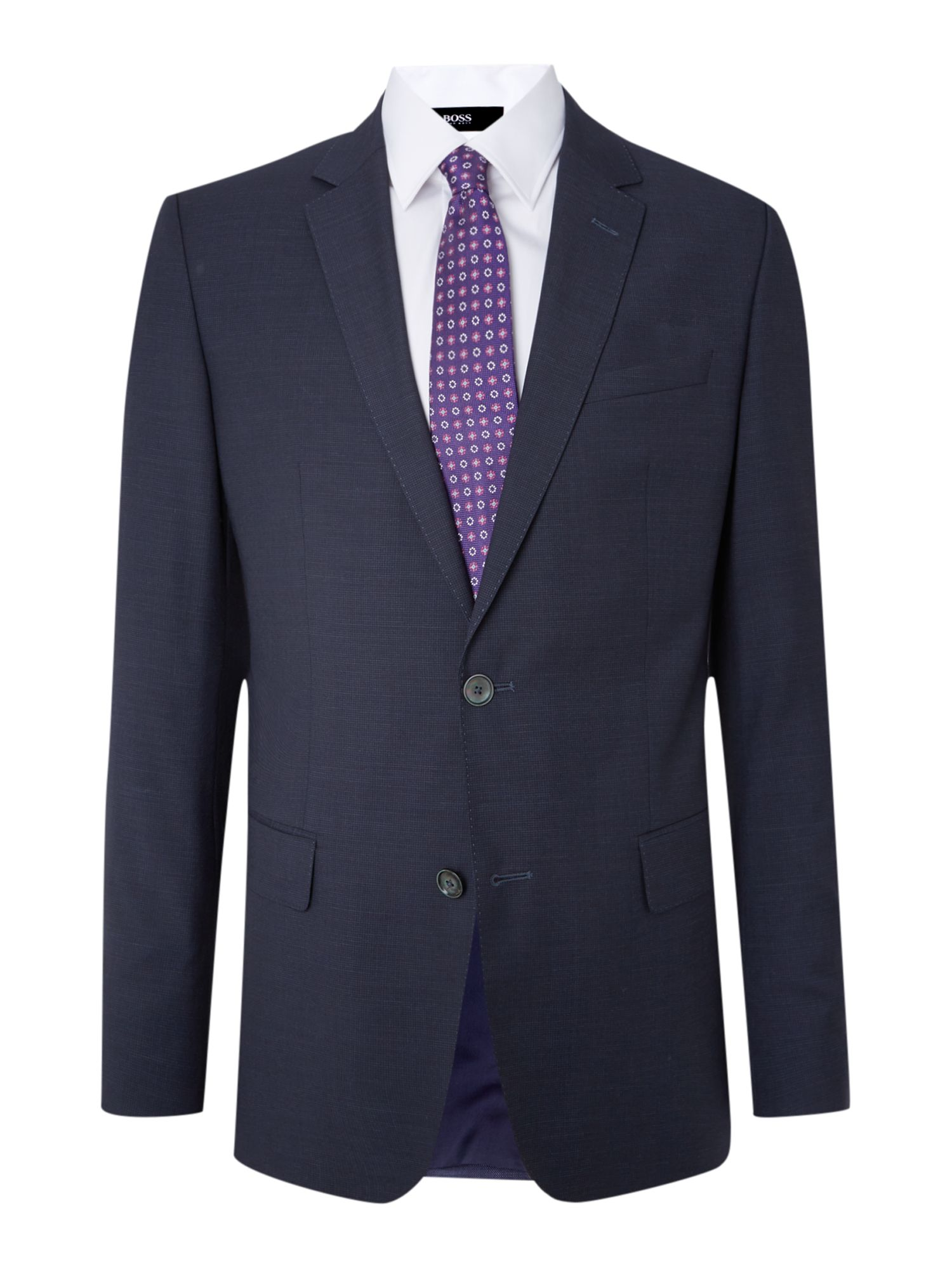 Hutson Gander slim fit subtle gingham suit