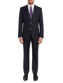 Hugo Boss Hutson Gander slim fit subtle gingham suit