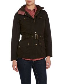 Belted Fitted Equestrian Jacket