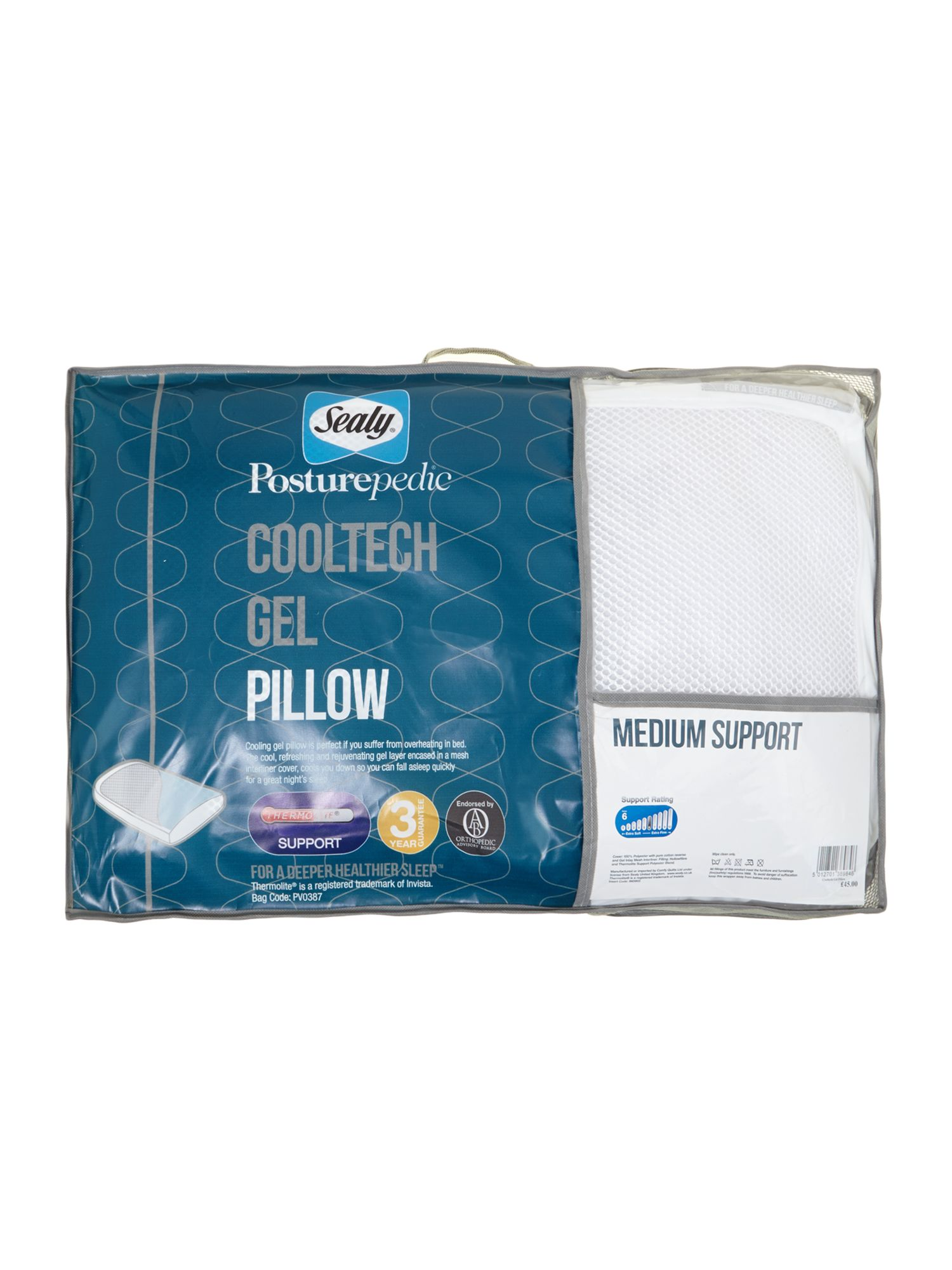 50 Off Sealy Posturepedic Cooltech Gel Pillow All These