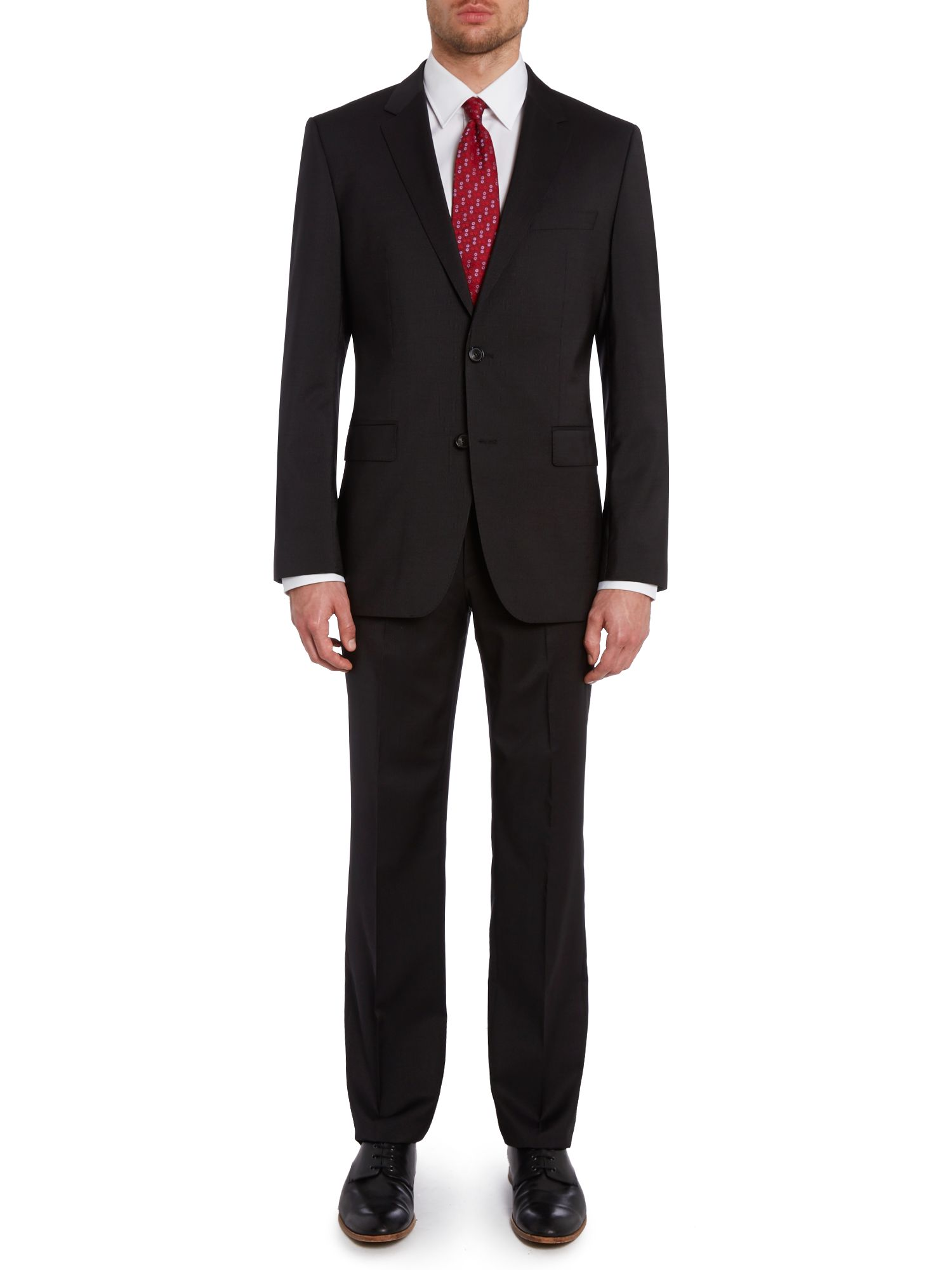 James Sharp regular fit pinstripe suit