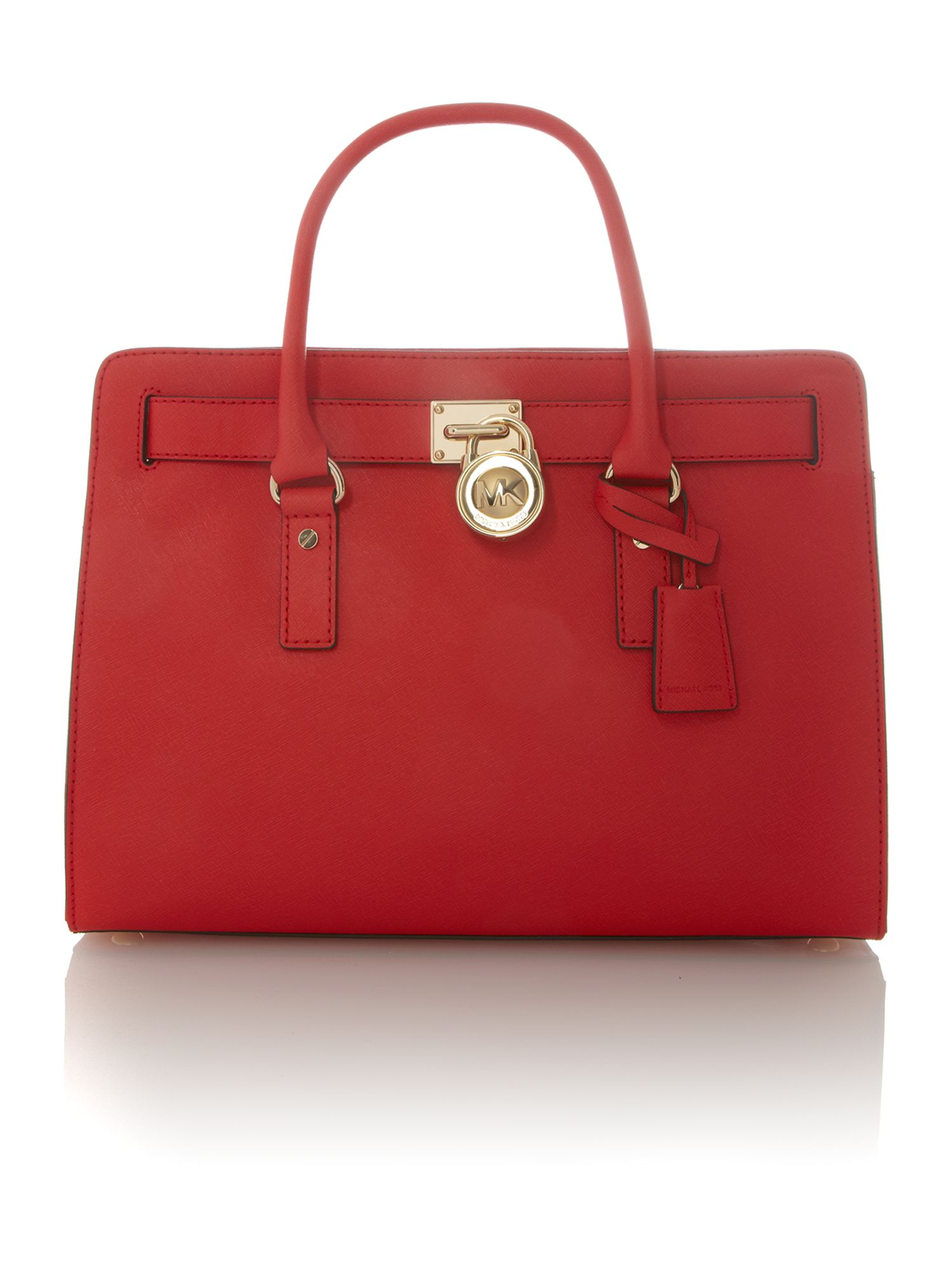 Hamilton large red ew tote xbody bag