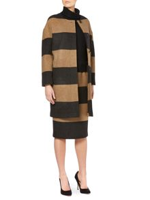 Zimino striped coat