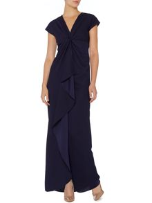 Diva waterfall maxi dress
