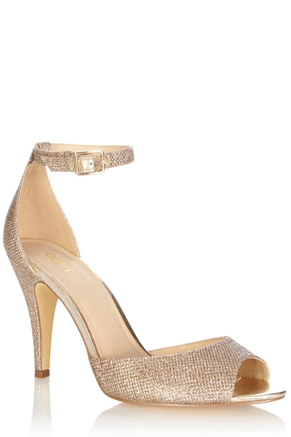 Chloe metallic sandals