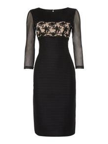 Elsa lace waist detail dress