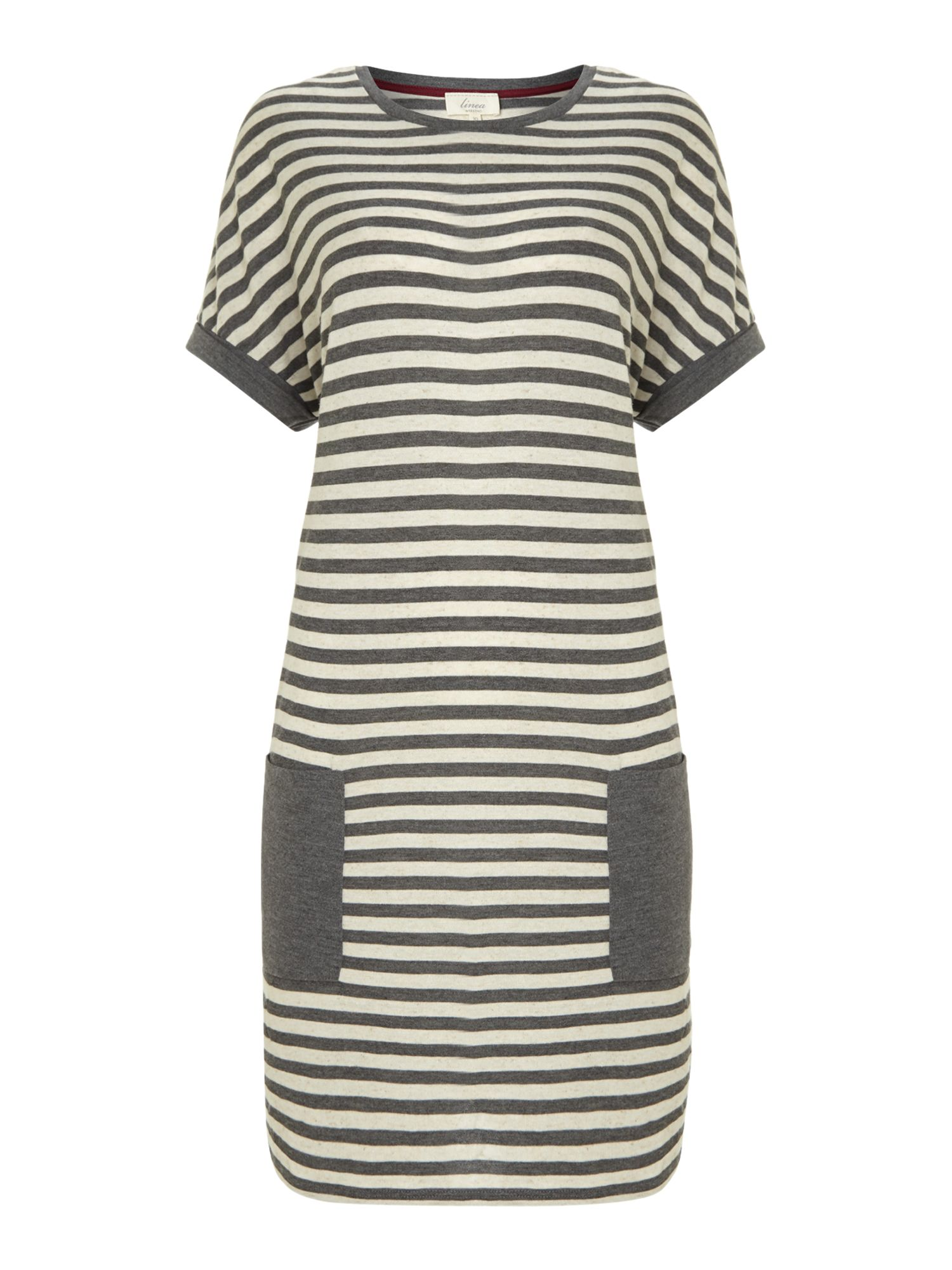 Forest stripe pocket dress