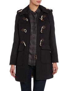 Mission Duffle Wool Coat