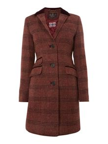 Wool Tweed Stornoway Coat