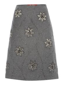 Max Mara Gineceo jewel front pencil skirt