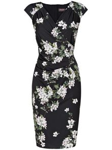 Camille floral dress