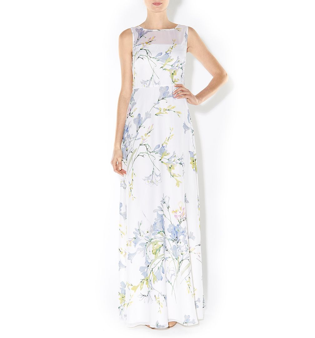 Freesia maxi dress