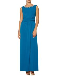 Esme Jewel Jersey Maxi Dress