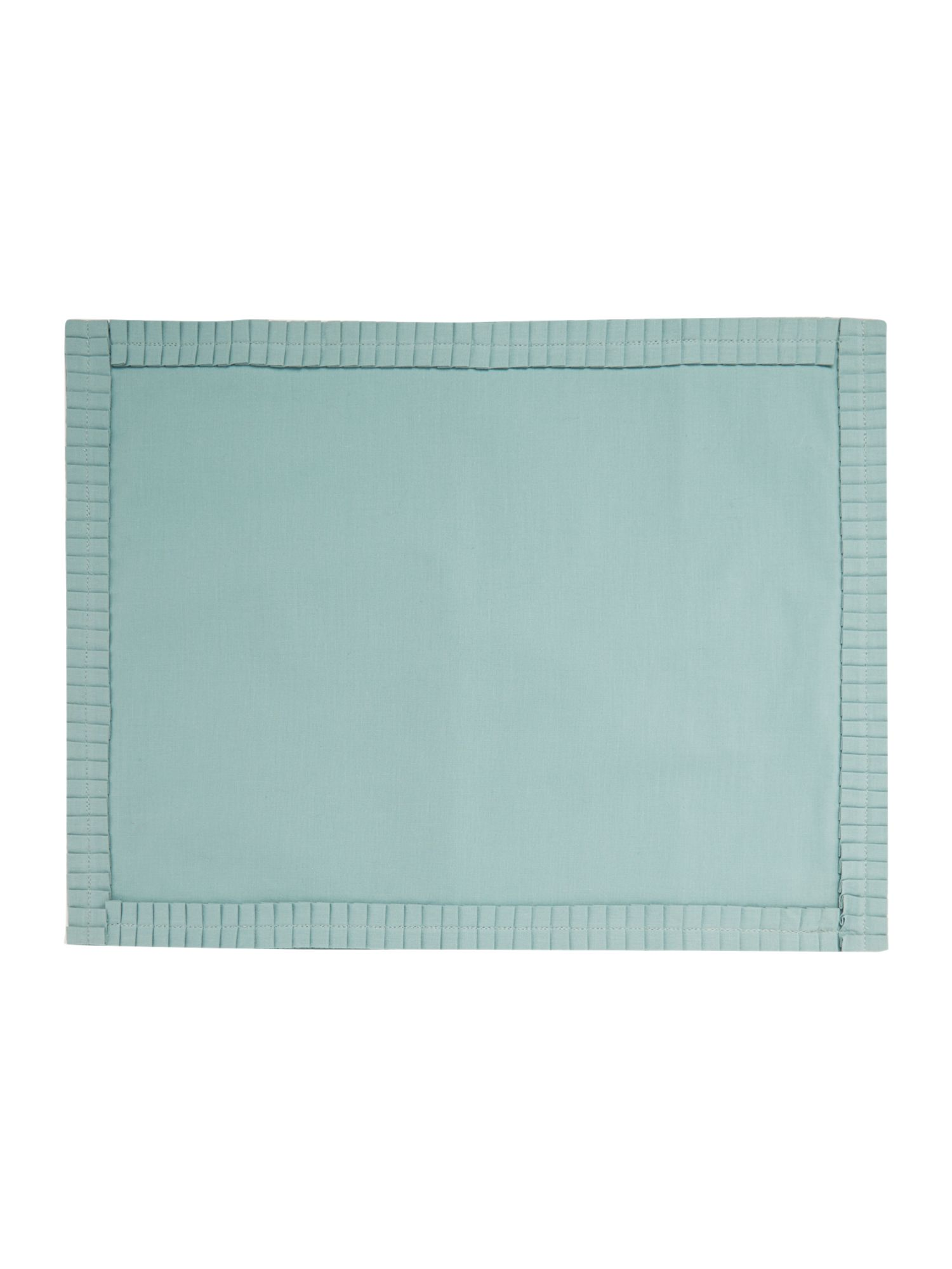 Pleats Teal Placemats set of 2