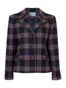 Dickins & Jones Boxy check wool jacket