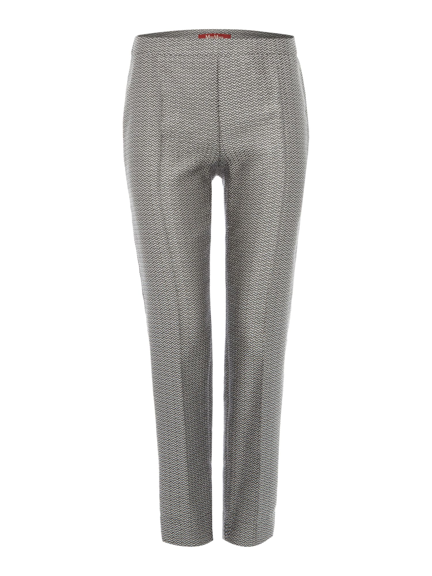 Cincin printed straight leg trouser