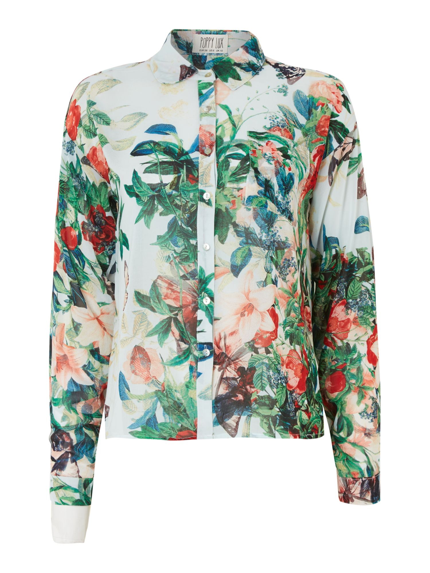 Shirt Long Sleeve Verity Floral Print