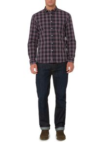 Harding check long sleeve shirt