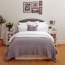 Lexington Icons Poplin Double Duvet Cover in White