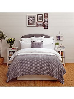 Icons Poplin Double Duvet Cover in White