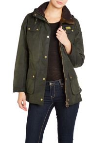 Barbour Hawkstone Wax Parka