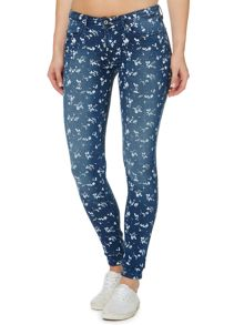 Levi's The legging in pieced floral