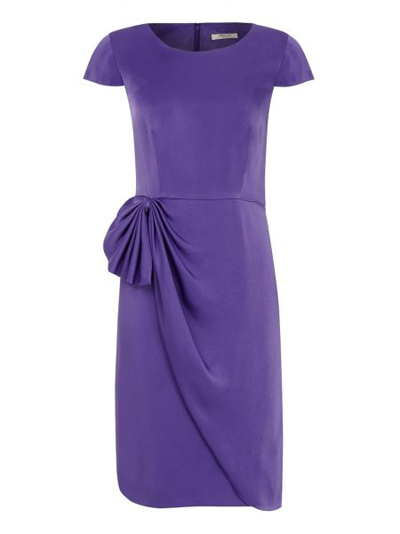 Precis Petite Pleated statement dress