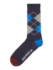 3 pack argyle stripe sock gift box