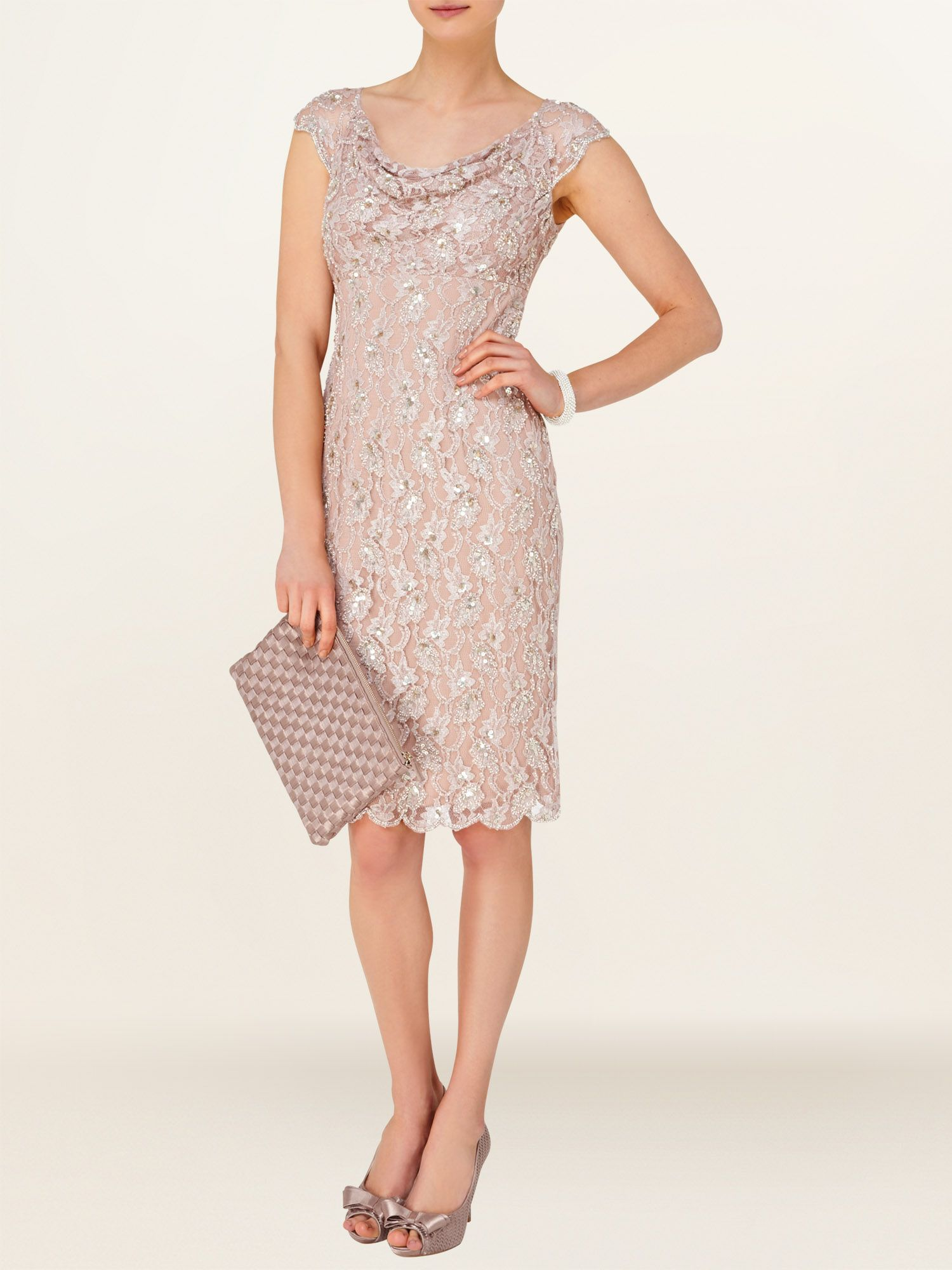 Emma embellished dress